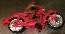 Vintage 1950's Hard Plastic Motorcycle - Made In China-Please Check The Pictures