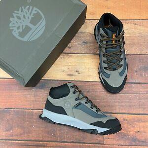 Timberland Men's Linclon Peak Black Waterproof Leather Hiking Boots A2HV3