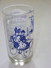 Vintage: SONG LYRICS Glass - AFTER THE BALL
