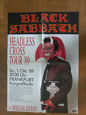 Black Sabbath...Tour Poster...1.10.1989 Frankfurt