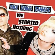 Ting Tings- We Started Nothing  (CD, May-2008, Columbia/Red Ink)