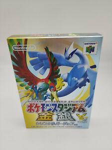 Pocket Monsters Stadium Crystal Version Nintendo 64 Japan Brand New