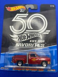 Hot Wheels 50th 1978 Dodge Lil Red Express Truck
