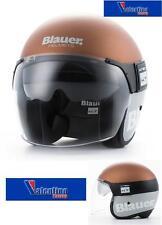 Casco Jet Moto Helmet casque Blauer Pod in Fibra Bronze / Gray Mis. L