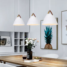 3X Kitchen Pendant Light White Lamp Modern Ceiling Lights Home Pendant Lighting