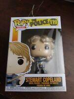 BRAND NEW Funko Pop! Rocks The Police Stewart Copeland #119 SEALED