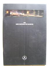 Prospetto MERCEDES AMG c43 202 e55 210 SL 60 r129 accessorio w140 208 MOD 1997 1998