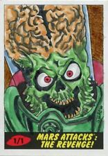 Mars Attacks The Revenge [2017] Sketch Card By Shaow Siong