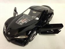 "Toyota FT-1 Concept JDM TUNERS 8.25"" METALS Diecast 1:24 Collect Jada Toys Black"