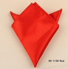 23cm x 23cm SUIT POCKET HANKERCHIEF RED BRAND NEW