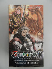 Force of Will TCG The Dawn of Valhalla Booster Box English