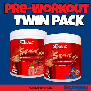 #Twin Pack Reset Nutrition Send It Pre Workout