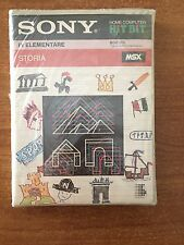 "Cassette ""History to Elementary III"" for MSX (sde008)"
