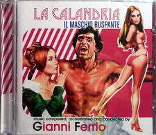 LA CALANDRIA - IL MASCHIO RUSPANTE - CD Soundtrack OST - Gianni Ferrio