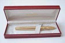 Vintage Sheaffer Imperial V 12K G.F. Crown Fountain Pen 14K Gold Nib