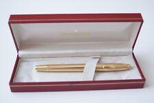 Vintage Sheaffer Imperial V 12K G.F. Crown Fountain Pen 14K Gold Nib