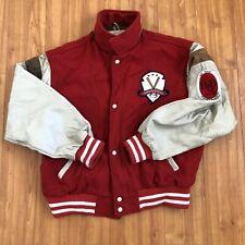 Vintage Letterman Varsity Louisville Slugger Jacket Large