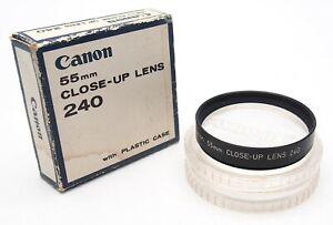 Canon 55mm Close Up Lens 250 Screw In Filter - UK Dealer