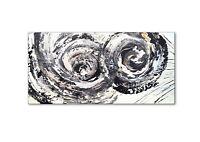 Atelier Culari Art Unikat Abstrakt Handarbeit 80 x 40 Gemälde Art Nr 592