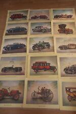 44 altes Bilder Aral Oldtimer Autos Kunstdrucke,Sammlung,Konvolut