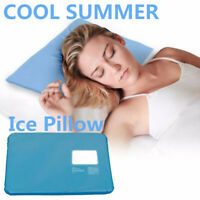 CHILLOW Cooling Pad Mat Aid Sleeping Therapy Stress Relax Ice Pillow N