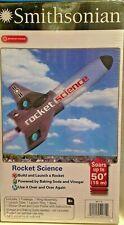 """Smithsonian ' ROCKET SCIENCE """" BUILD & LAUNCH A ROCKET W/ BAKING SODA & VINEGAR"""