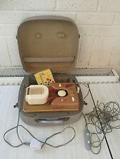 TEFIFON Vintage Suitcase Player KC1/Ko + 1x TEFI + Remote Control - No sound