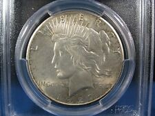 1927 PEACE SILVER DOLLAR PCGS MS 64  BEAUTIFUL LIGHT GOLD  LUSTER