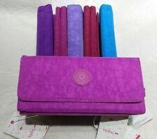Kipling Brownie Large Women's Light Pink Purse Wallet Size L19  x H10 x W3 cm