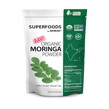 MRM, Raw Organic Moringa Powder, 8.5 oz (240g)