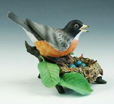Vintage Lenox Garden Birds American Robin Porcelain Figurine