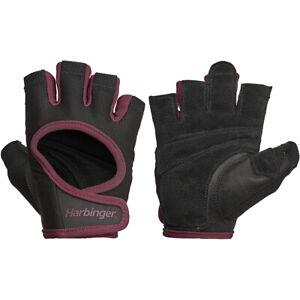 Harbinger Women's Power Weight Lifting Gloves - Black/Merlot