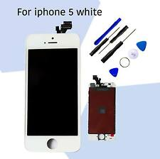 White Replacement  LCD Screen Digitiger For Iphone 5 and free tools UK