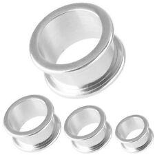 Orecchio Flesh Tunnel Piercing Estensore Dilatatore | 2 - 30 mm