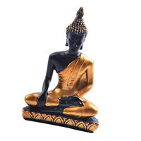 MagiDealMagiDeal Seated Meditating Buddha Statue Resin SculptureCraft Decor