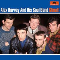 "Alex Harvey and His Soul Band : Shout! Vinyl 12"" Album (2017) ***NEW***"
