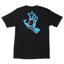 Santa Cruz Screaming Hand Skateboard T Shirt Black Xxl