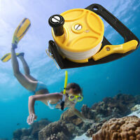 83M/46M Scuba Diving Wreck Cave Dive Reel Anchor Kayak Anchor Clip Handle Line