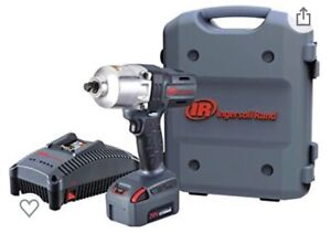 """Ingersoll Rand W7000 20v Series Cordless Impact Wrench, 1/2"""" 1 Battery & Charger"""