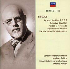 Collins / Jensen - Eloq: Sibelius - Symphonies Nos 5-7 [New CD]