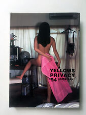 Akira Gomi YELLOWS PRIVACY '94 Photo Book First Edition Japan Rare