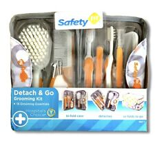 Safety 1st Detach & Go Grooming Kit With Case 18 Piece Essentials Free Shipping!