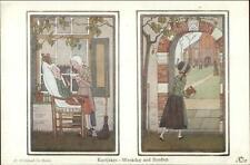 H Willebeek Le Mair Fairy Tale Nursery Rhyme KORTJAKJE Weekday & Sunday PC
