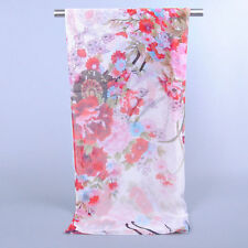 Soft Women Long Print Chiffon Fashion Scarf Wrap Ladies Long Shawl Scarves Stole