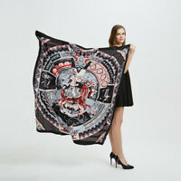 "Women's Fashion Large Shawl Scarf Knight Print Soft Blanket Hijab Wraps 51""x51"""