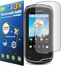 3x Clear LCD Screen Protector Cover Guard Shield Film Garmin Monterra TOPO GPS