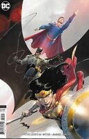 Justice League Comic Issue 24 Limited Variant Modern Age First Print 2019 Snyder