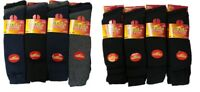 12 & 6Pr Mens Long Thermal Socks Thick Winter Warm Walking Work Boot Socks 6-11
