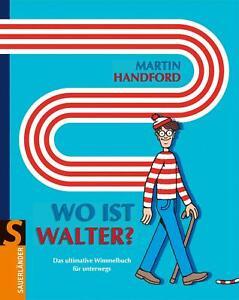Wo ist Walter? | Das ultimative Wimmelbuch | Martin Handford | Buch | Deutsch
