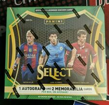 2016-17 Panini Select Soccer Hobby Box Sealed 12 Packs  1 Auto 2 Mem 12 Prizms
